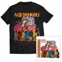 Acid Drinkers - Peep Show CD + T-shirt (czarna kolor)