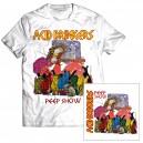 Acid Drinkers - Peep Show CD + T-shirt (biała kolor)