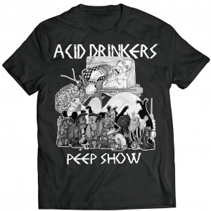 Acid Drinkers - Peep Show T-shirt (czarna)