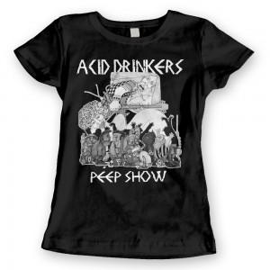 Acid Drinkers - Peep Show T-shirt (damska czarna)