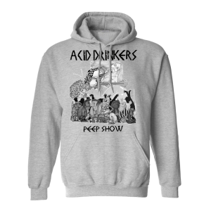 Bluza Acid Drinkers - Peep Show (szara)