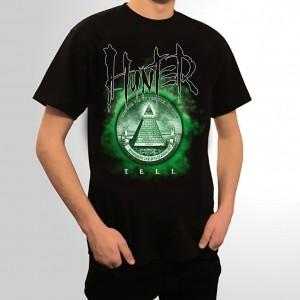Hunter - koszulka Teli (czarna)