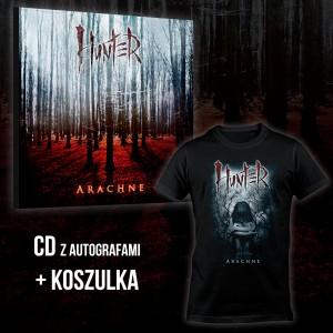 Hunter - Arachne BOX 1 (CD + T-shirt Arachne Kid ) / PRE-ORDER - oszczędzasz 6 zł