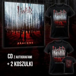 Hunter - Arachne BOX 2 (CD + T-shirt Arachne Full Color + T-shirt Arachne 2 Colors) / PRE-ORDER - oszczędzasz 12 zł