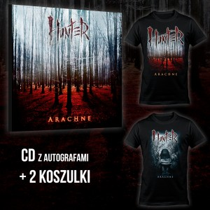 Hunter - Arachne BOX 2 (CD + T-shirt Arachne Full Color + T-shirt Arachne Kid) / PRE-ORDER - oszczędzasz 12 zł
