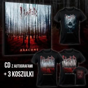 Hunter - Arachne BOX 3 (CD + 3 x T-shirt) / PRE-ORDER - oszczędzasz 19 zł