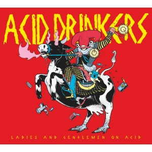 Acid Drinkers - Ladies and Gentlemen on Acid CD z podpisami