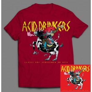 Acid Drinkers - Ladies and Gentlemen on Acid BOX 1B (CD + T-shirt czerwony / nadruk kolor) / PRE ORDER - oszczędzasz 5 zł