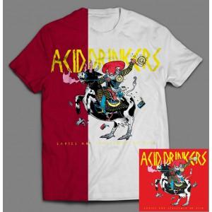 Acid Drinkers - Ladies and Gentlemen on Acid BOX 2C (CD + T-shirt czerwony / kolor + T-shirt biały / kolor ) / PRE ORDER