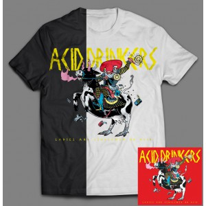 Acid Drinkers - Ladies and Gentlemen on Acid BOX 2B (CD + T-shirt czarny / kolor + T-shirt biały / kolor ) / PRE ORDER