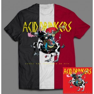 Acid Drinkers - Ladies and Gentlemen on Acid BOX 3 (CD + 3 x T-shirt 1 x czarny, 1 x biały, 1 x czerwony / kolor ) / PRE ORDER