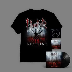 Hunter - Arachne BOX 3A ( WINYL+ autografy + CD + T-shirt Arachne Pajęczyna + Niewolność CD ) / oszczędzasz 16 zł