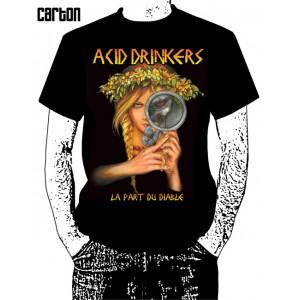 Koszulka Acid Drinkers - La Part Du Diable
