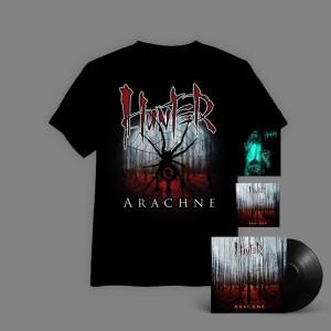 Hunter - Arachne BOX 3B ( WINYL+ autografy + CD + T-shirt Arachne Pajęczyna + Imperium CD  ) / oszczędzasz 16 zł