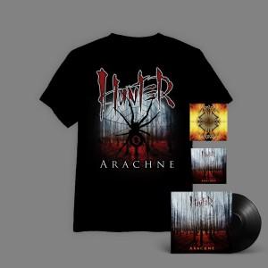 Hunter - Arachne BOX 3C ( WINYL + autografy+ CD + T-shirt Arachne Pajęczyna + Requiem CD  ) / PRE-ORDER - oszczędzasz 16 zł
