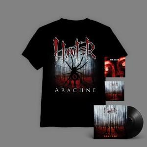Hunter - Arachne BOX 3D ( WINYL+ autografy + CD + T-shirt Arachne Pajęczyna + Medeis CD  ) / oszczędzasz 16 zł