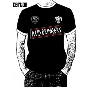 Piłkarska koszulka Acid Drinkers - czarna