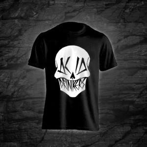 Koszulka - Acid Drinkers - Czaszka (czarna)