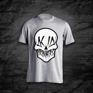 Koszulka - Acid Drinkers - Czaszka (szara)
