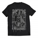 Hunter - koszulka zombie silver