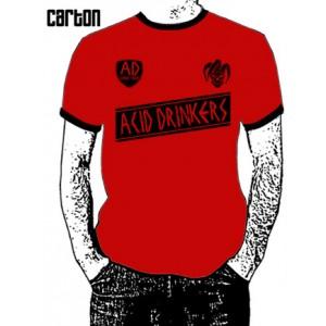 Piłkarska koszulka Acid Drinkers - czerwona