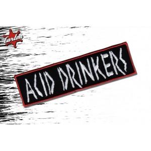 Naszywka Acid Drinkers - biała