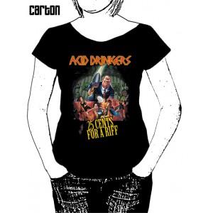Damska koszulka Acid Drinkers - 25 Cents For a Riff