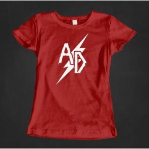 Damska koszulka Acid Drinkers (czerwona)
