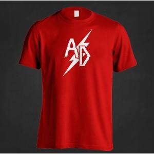 """Koszulka Acid Drinkers """"25"""" (czerwona)"""