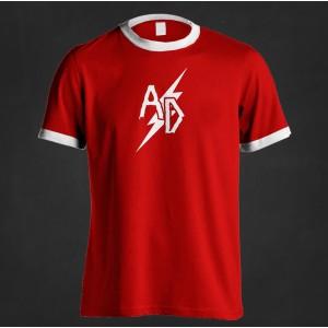 """Koszulka piłkarska Acid Drinkers """"25"""" (czerwona)"""
