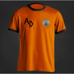 "Koszulka piłkarska Acid Drinkers ""25"" (pomarańczowa)"